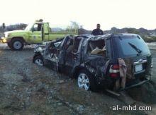 انتشال 10 ضحايا جرفتهم السيول إلى وادي تمايه برابغ