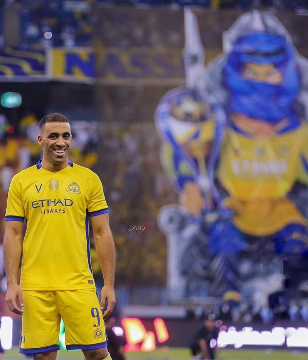 """رسالة من """"حمدالله"""" للنصراويين بمناسبة مرور عام على انتقاله إلى النادي"""