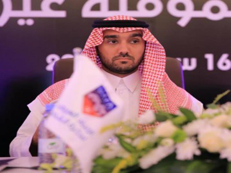 الأمير عبدالعزيز بن تركي الفيصل رئيساً للاتحاد العربي لكرة القدم بالتزكية