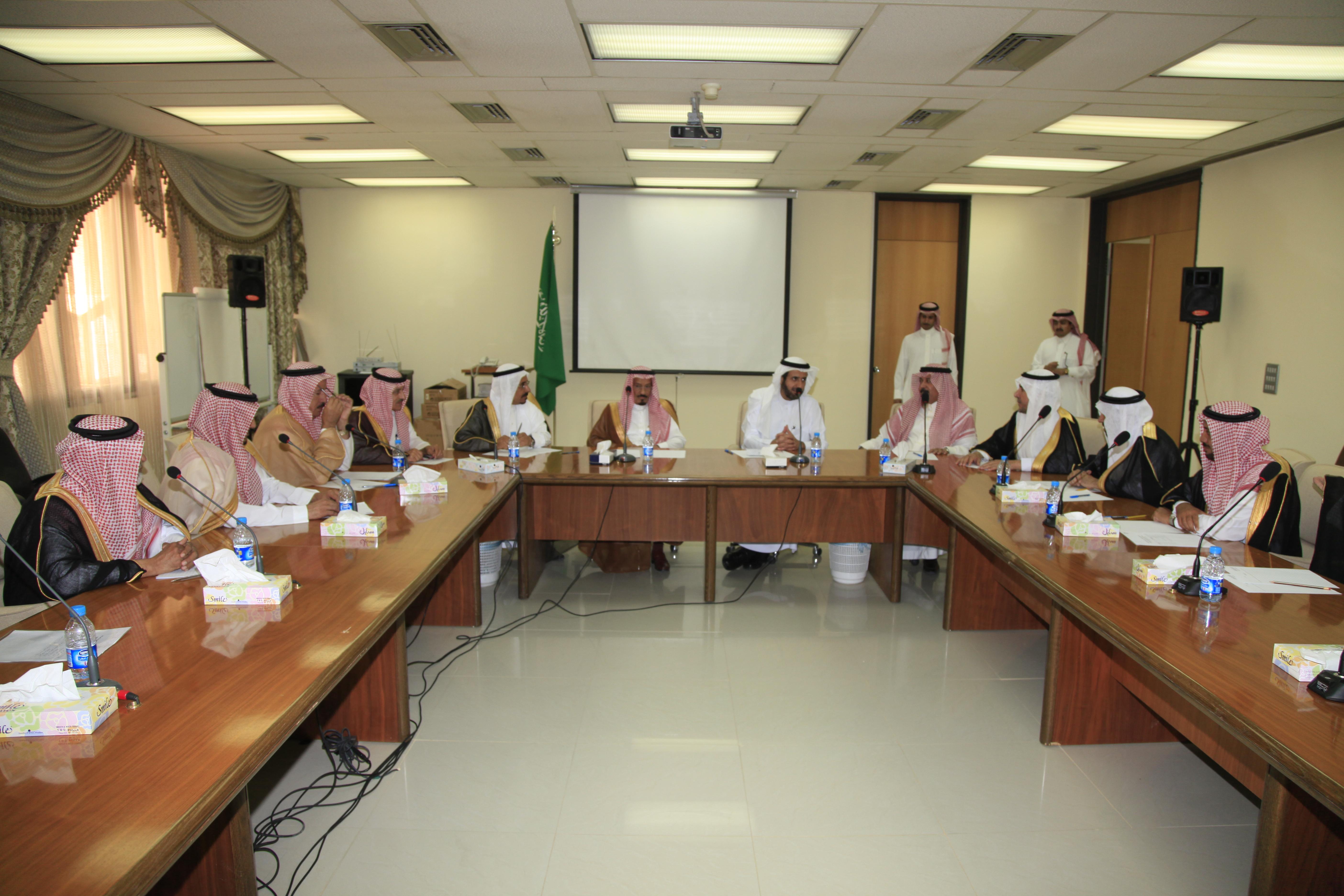 وزير التجارة يلتقي اعضاء المجلس التنفيذية بفروع غرفة الرياض بالمحافظات