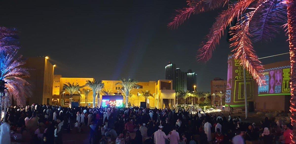 """مشاهد من فعاليات""""موسم الرياض"""" اليوم وسط حضور جماهيري كبير"""