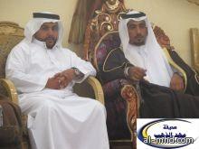 بحضور الشيخ مبارك بن ربيعان الشاطري الشاعر الكبير عبدالرحمن بن فهد يحتفل بزواجه  في قاعة نورة