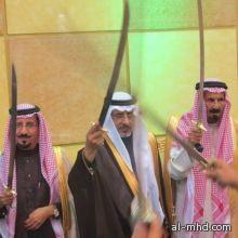 """الشيخ محمد بن حراب السنــاح """" يحتفي بـ """" الشيخ خربوش بن هندي الذويبي """" بحضــور """" شيخ مطير """""""