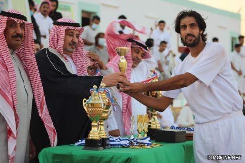 فريق الحزم يحقق بطولة كأس الرحبة لكرة القدم بالسويرقيه