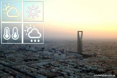 حالة الطقس المتوقعة ليوم غدٍ الأربعاء في المملكة
