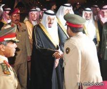 الأمير سلمان يصل إلى المنطقة الشرقية