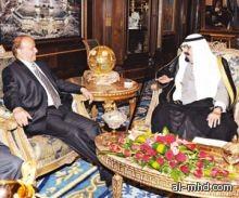 خادم الحرمين يبحث مع الرئيس هادي أوضاع اليمن