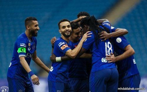 الهلال النادي الوحيد دون خسارة في دوري محمد بن سلمان