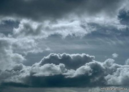 الأرصاد : هطول أمطار رعدية متوسطة على معظم المناطق