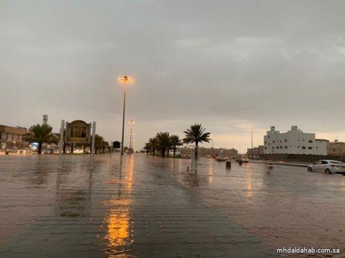 حالة الطقس المتوقعة ليوم غدٍ الخميس في المملكة