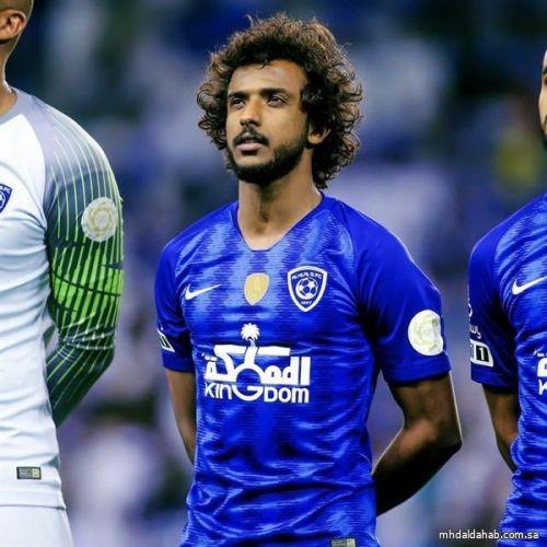 ياسر الشهراني يفوز بجائزة أفضل لاعب بمنطقة غرب آسيا لشهر مارس