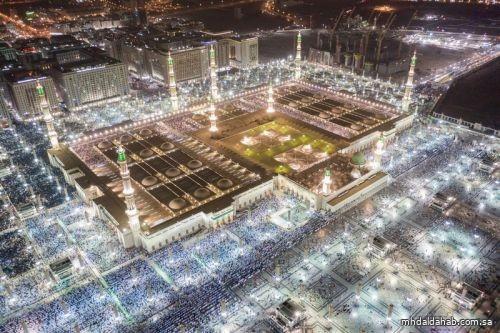 قصر الدخول إلى المسجد النبوي وساحاته على الأشخاص المحصنين