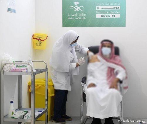 ارتفاع عدد الجرعات المُعطاة من لقاح كورونا في المملكة لـ 6.7 مليون جرعة