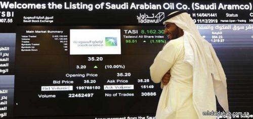 سوق الأسهم السعودية يغلق مرتفعاً عند 10531 نقطة