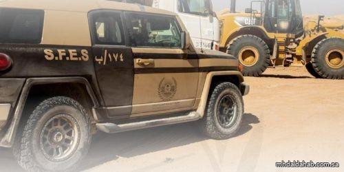 القوات الخاصة للأمن البيئي توقف (55) مخالفًا لنظام البيئة لارتكابهم مخالفات رعي