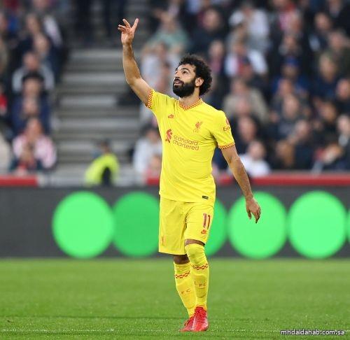 محمد صلاح أسرع لاعب يصل لـ100 هدف مع ليفربول في الدوري الإنجليزي