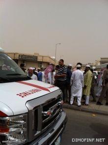 حادث دهس ينقل طفلا للدار الآخرة ويبقي والده بحال حرجة ومعه ثلاثة وافدين باكستانيين