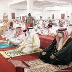 محافظ المهد يتقدم المصلين لصلاة العيد وسط إجراءات احترازيه متكاملة