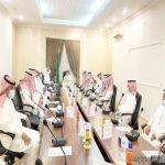 محافظ المهد يترأس الاجتماع الدوري لرؤساء المراكز
