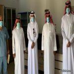مدير القطاع الصحي بالمهد وإدارة المراكز يقومون بزيارة للمراكز الصحية المستحدثة
