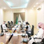 انفاذً لتوجيهات أمير المنطقة تحسباً لموسم الأمطار محافظ المهد يرأس إجتماع لجنة الدفاع المدني الفرعية